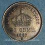 Coins 2e empire (1852-1870). 20 centimes tête laurée grand module 1867 BB. Strasbourg