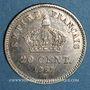 Coins 2e empire (1852-1870). 20 centimes tête laurée petit module 1867BB. Strasbourg