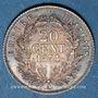 Coins 2e empire (1852-1870). 20 centimes tête nue 1854 A