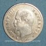 Coins 2e empire (1852-1870). 20 centimes tête nue 1860 BB. Strasbourg