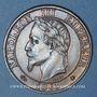 Coins 2e empire (1852-1870). 5 centimes tête laurée 1865 A