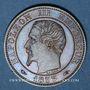 Coins 2e empire (1852-1870). 5 centimes tête nue 1853 A