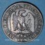 Coins 2e empire (1852-1870). 5 centimes tête nue 1855 MA. Marseille. Ancre