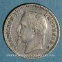 Coins 2e empire (1852-1870). 50 centimes tête laurée 1865 BB. Strasbourg