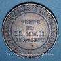 Coins 2e empire (1852-1870). Module de 10 centimes 1853. Visite de Lille