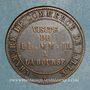 Coins 2e empire (1852-1870). Module de 5 centimes 1853. Visite de Lille
