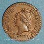 Coins 2e république (1848-1852). 1 centime 1849 A