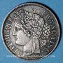Coins 2e république (1848-1852). 2 francs Cérès 1849 A