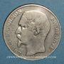 Coins 2e république (1848-1852). 5 francs Louis-Napoléon 1852 A, tête large