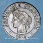 Coins 3e république (1870-1940). 1 centime Cérès 1874 A