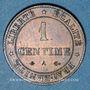 Coins 3e république (1870-1940). 1 centime Cérès 1875 A