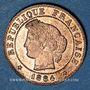 Coins 3e république (1870-1940). 1 centime Cérès 1884 A