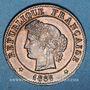 Coins 3e république (1870-1940). 1 centime Cérès 1886 A