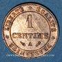 Coins 3e république (1870-1940). 1 centime Cérès 1887 A