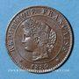 Coins 3e république (1870-1940). 1 centime Cérès 1889 A
