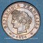 Coins 3e république (1870-1940). 1 centime Cérès 1894 A