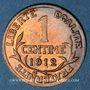 Coins 3e république (1870-1940). 1 centime Dupuis, 1912