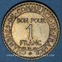 Coins 3e république (1870-1940). 1 franc Chambre de Commerce 1923