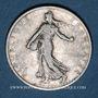 Coins 3e république (1870-1940). 1 franc Semeuse 1906