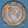 Coins 3e république (1870-1940). 2 centimes Cérès 1891 A