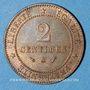 Coins 3e république (1870-1940). 2 centimes Cérès 1892 A