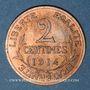 Coins 3e république (1870-1940). 2 centimes Dupuis, 1914