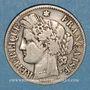Coins 3e république (1870-1940). 2 francs Cérès 1873 A