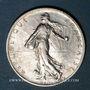 Coins 3e république (1870-1940). 2 francs Semeuse 1914C. Castelsarrasin