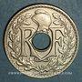 Coins 3e république (1870-1940). 25 centimes Lindauer 1928