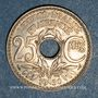 Coins 3e république (1870-1940). 25 centimes Lindauer 1930