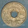 Coins 3e république (1870-1940). 25 centimes Lindauer 1936