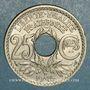Coins 3e république (1870-1940). 25 centimes Lindauer, type souligné, 1915
