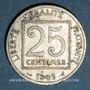 Coins 3e république (1870-1940). 25 centimes Patey, 1er type 1903