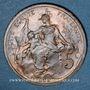 Coins 3e république (1870-1940). 5 centimes Dupuis, 1898