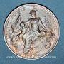 Coins 3e république (1870-1940). 5 centimes Dupuis, 1900