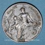 Coins 3e république (1870-1940). 5 centimes Dupuis, 1912