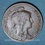 Coins 3e république (1870-1940). 5 centimes Dupuis, 1913