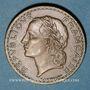 Coins 3e république (1870-1940). 5 francs Lavrillier bronze d'aluminium 1938