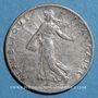 Coins 3e république (1870-1940). 50 centimes Semeuse 1908