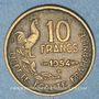 Coins 4e république (1947-1959). 10 francs Giraud 1954 B