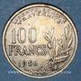 Coins 4e république (1947-1959). 100 francs Cochet 1956 B