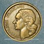 Coins 4e république (1947-1959). 20 francs Georges Guiraud 1950 B. 3 faucilles