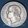 Coins 4e république (1947-1959). 5 francs Lavrillier aluminium 1948 B