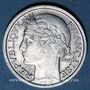 Coins 4e république (1947-1959). 50 cmes Morlon aluminium 1947 B