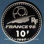 Coins 5e république (1959- ). 10 francs 1997. Coupe du Monde de Football, 1998 - Italie