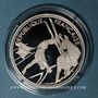 Coins 5e république (1959-). 100 francs 1990 J.O. Albertville 1992. Ski acrobatique