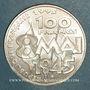 Coins 5e république (1959- ). 100 francs 1995. Commémoration de l'Armistice
