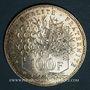 Coins 5e république (1959- ). 100 francs Panthéon, 1982