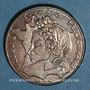 Coins 5e république (1959- /). 1986. Finistère touchant le listel.