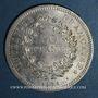 Coins 5e république (1959- ). 50 francs 1974, avers de la 20 francs